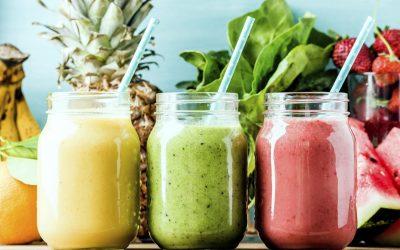 Six recettes de smoothies énergisants
